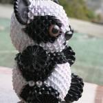 3d origami panda instructions